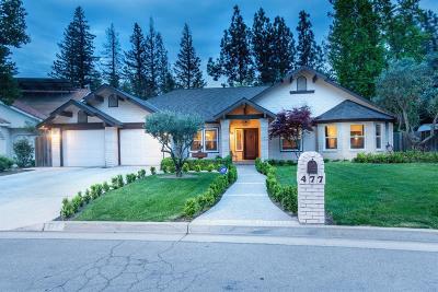 Fresno Single Family Home For Sale: 477 E Woodhaven Lane