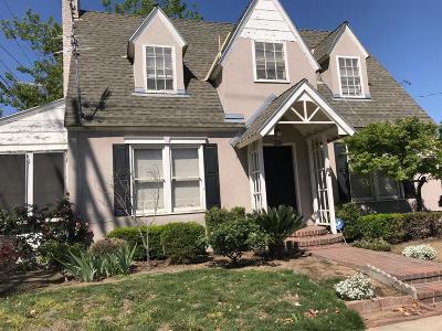 Fresno CA Single Family Home For Sale: $205,000