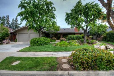 Fresno Single Family Home For Sale: 166 E Trenton Avenue