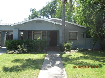 Fresno CA Single Family Home For Sale: $189,900