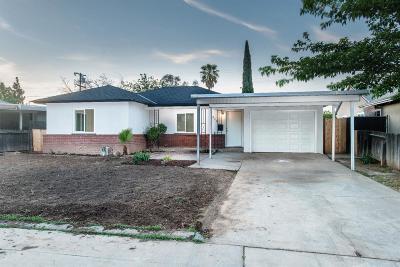 Fresno CA Single Family Home For Sale: $214,998