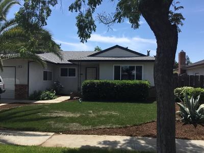 Fresno CA Single Family Home For Sale: $220,000