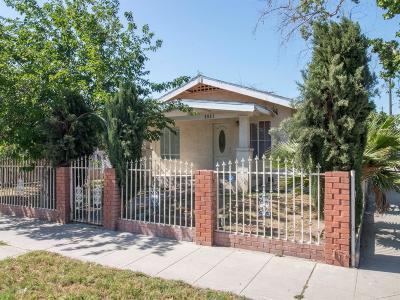 Fresno CA Single Family Home For Sale: $99,000