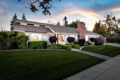 Fresno CA Single Family Home For Sale: $459,000