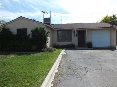 Fresno CA Single Family Home For Sale: $125,500