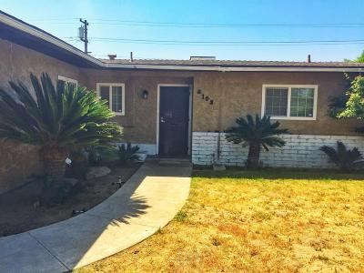 Selma CA Single Family Home For Sale: $212,500