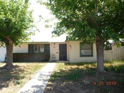 Coalinga Single Family Home For Sale: 445 Yale Avenue