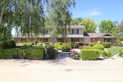 Kerman Single Family Home For Sale: 19550 W Whitesbridge Avenue
