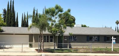 Sanger Single Family Home For Sale: 1305 Hume Drive