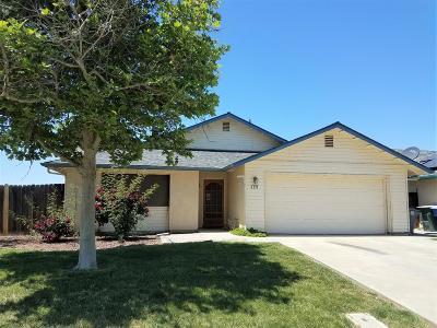 Coalinga Single Family Home For Sale: 338 Buckeye Springs Street