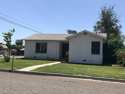 Reedley CA Single Family Home For Sale: $170,000