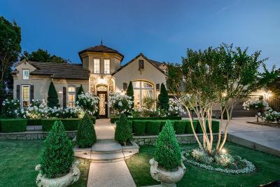Clovis Single Family Home For Sale: 3239 E Via Montiano Avenue