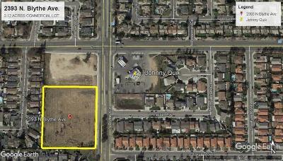 Fresno Residential Lots & Land For Sale: 2393 N Blythe Avenue