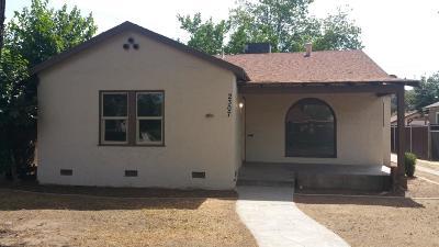 Fresno CA Single Family Home For Sale: $149,500