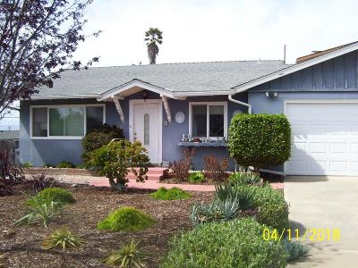Morro Bay Single Family Home For Sale: 685 San Juan St