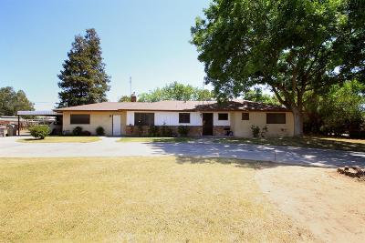 Fresno Single Family Home For Sale: 5167 W Clinton Avenue