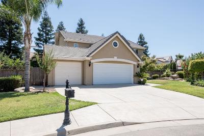Fresno Single Family Home For Sale: 1801 E Oak Haven Drive