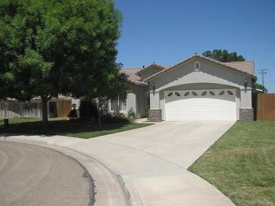 Hanford Single Family Home For Sale: 2870 Ridgecrest Court