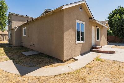 Fresno CA Single Family Home For Sale: $199,999
