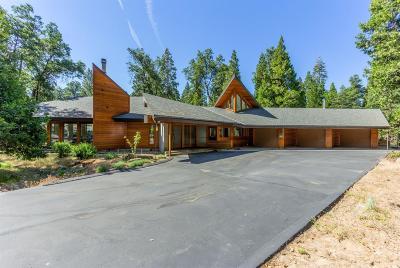 Shaver Lake Single Family Home For Sale: 42342 Granite Rim