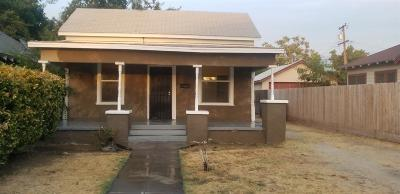 Fresno CA Single Family Home For Sale: $124,900
