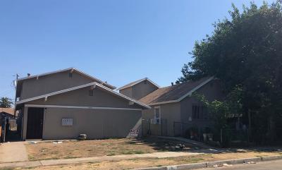 Clovis, Fresno, Sanger Multi Family Home For Sale: 1901 E Lewis Avenue