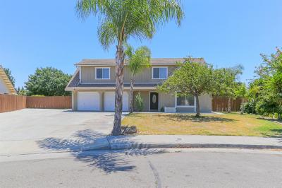 Kerman Single Family Home For Sale: 14502 Palm Court