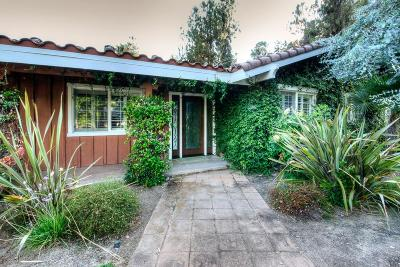 Fresno Single Family Home For Sale: 9897 N Bunkerhill Drive