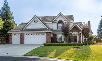 Clovis Single Family Home For Sale: 10483 E Cedarwood Court