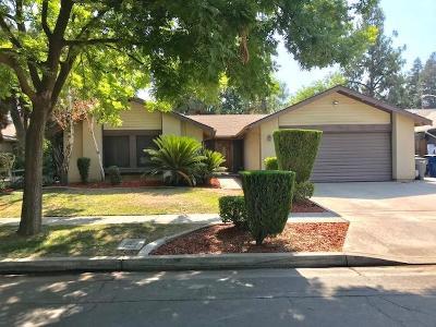 Fresno Single Family Home For Sale: 5312 N Vernal Avenue