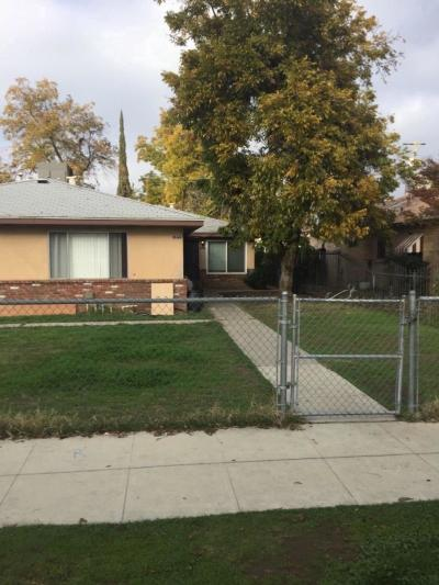 Fresno Multi Family Home For Sale: 3859 E Grant Avenue