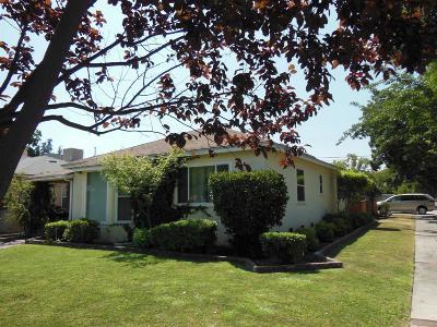 Fresno CA Single Family Home For Sale: $190,000
