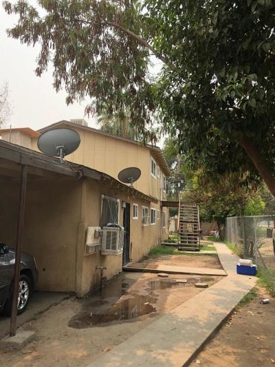 Clovis, Fresno, Sanger Multi Family Home For Sale: 2420 E Grant Avenue