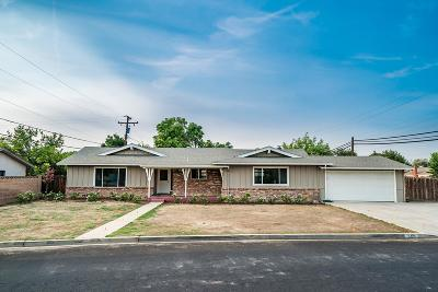Hanford Single Family Home For Sale: 710 W Mulberry Drive