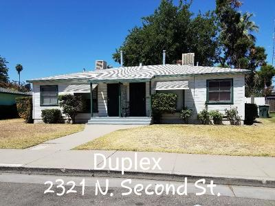 Fresno CA Multi Family Home For Sale: $137,500