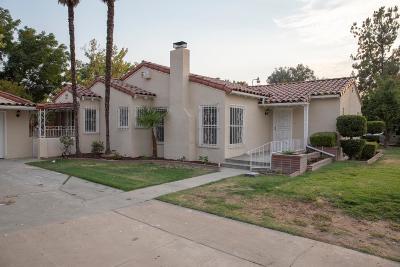 Fresno CA Single Family Home For Sale: $249,950