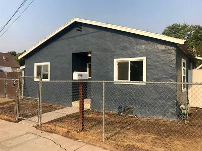 Fresno CA Single Family Home For Sale: $129,900