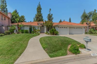 Fresno Single Family Home For Sale: 203 W Brier Circle