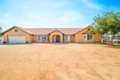 Madera Single Family Home For Sale: 17136 Bonita Road