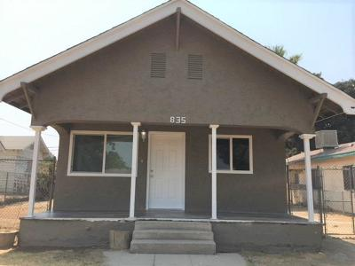 Fresno Single Family Home For Sale: 835 B Street