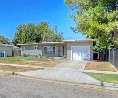 Fresno CA Single Family Home For Sale: $168,500
