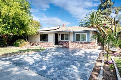 Fresno CA Single Family Home For Sale: $200,000