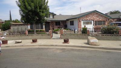 Hanford Single Family Home For Sale: 1146 Freddie Circle
