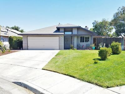 Hanford Single Family Home For Sale: 1047 Olive Court