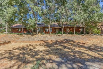 Clovis Single Family Home For Sale: 26099 E Pittman Hill Rd Road