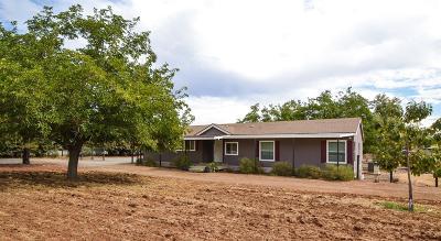 Clovis Single Family Home For Sale: 6136 N Bethel Avenue