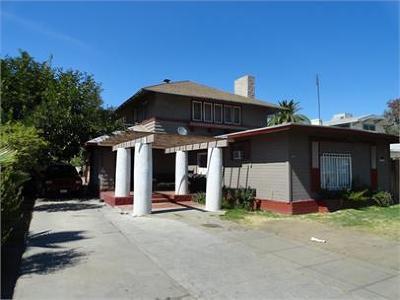 Clovis, Fresno, Sanger Multi Family Home For Sale: 723 E Belmont Avenue