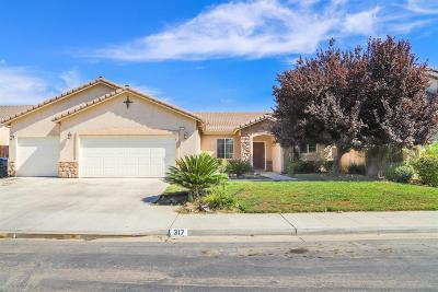 Fowler CA Single Family Home For Sale: $337,900