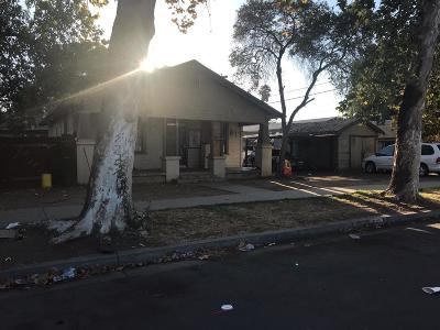 Clovis, Fresno, Sanger Multi Family Home For Sale: 519 S 11th Street