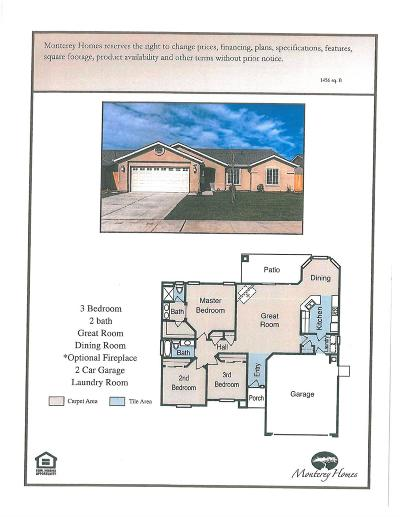 Parlier Single Family Home For Sale: 13486 Cherry Street #Lot20